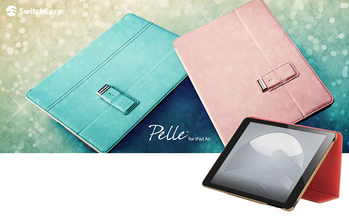 SwitchEasy Pelle Case for iPad Air