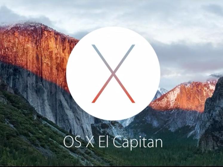 Mac OS X El Capitan Release