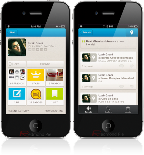 Foursquare 6.0 Update for iOS now available