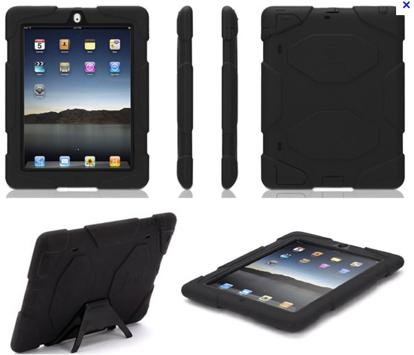 Griffin Survivor iPad Case Review - Ballistic protection