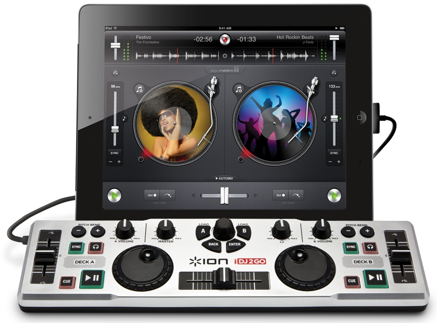 iON iDJ2GO – DJ for iPad  I'm Fat Boy Slim!! :D