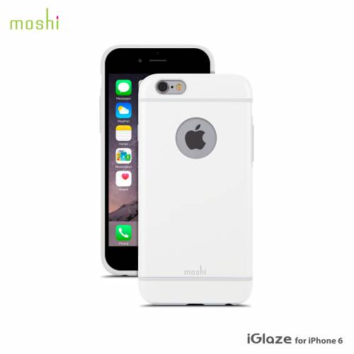 New: Moshi iGlaze Slim Hard Shell suits iPhone 6!