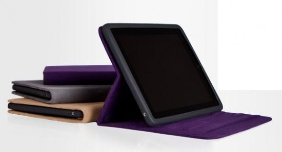 Review: Moshi Concerti for iPad  – Sensuous Suede Folio