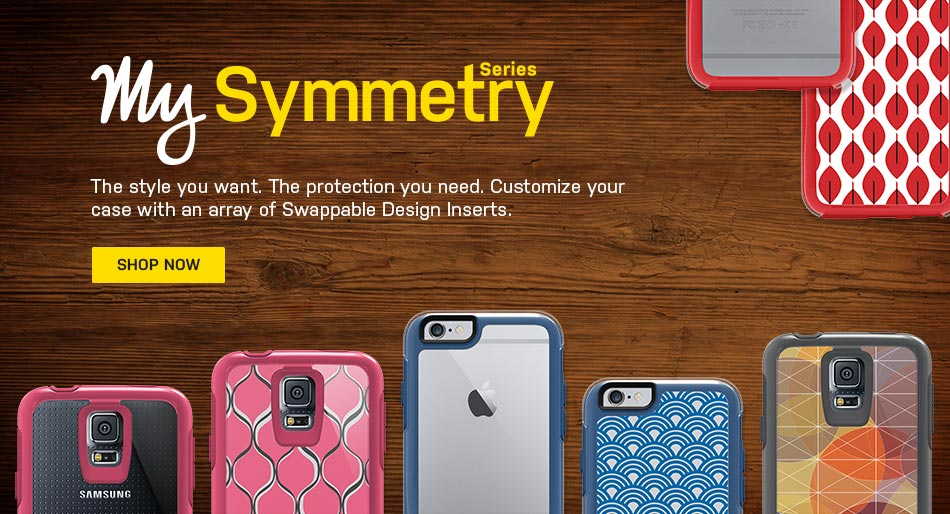 Otterbox My Symmetry has the iPhone 6 all Wrapped Up