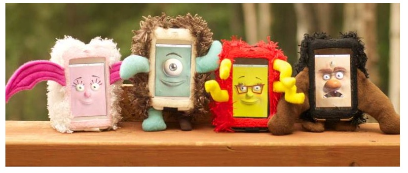 Mugtuk Monster Kids iPhone 4 Case - Cute & Cuddly Fun! 