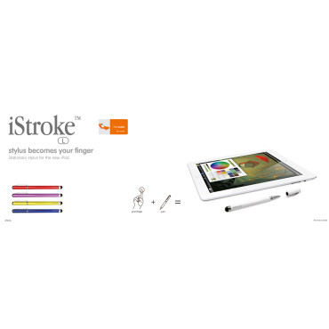 Ozaki iStroke-L iPad Stylus Pen - Yellow