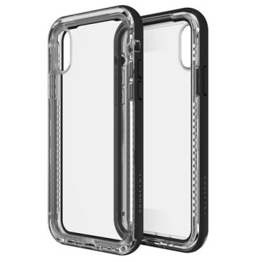 Lifeproof Next For iPhone X Black / Crystal