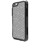 Symmetry Series Case for iPhone 6 Black w/Grid Grey