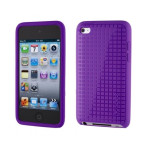Speck PixelSkin HD for iPod touch Purple