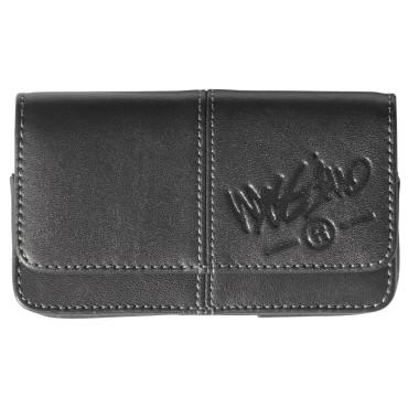 Universal Leather Case M-L Black