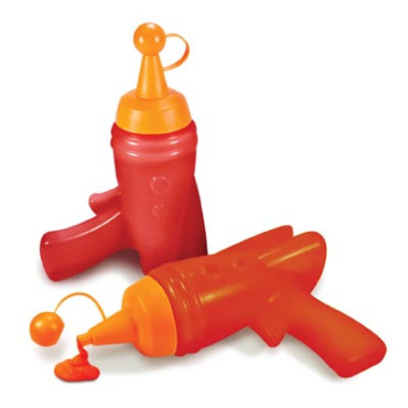 Sauce Bottle - Captain Ketchup