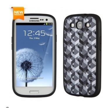 Speck FabShell for Samsung Galaxy S3 - ZikkyZak Grey