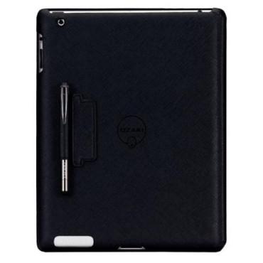 Ozaki iCoat NoteBook Case + Stylus New iPad - Black
