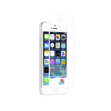 iVisor Glass for iPhone 5/5s/5c - White