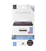 Power Support AFP Crystal Film (TM) for iPhone X