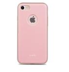 Moshi iGlaze for iPhone 7 - Slim, Lightweight Snap-On Case Blush Pink
