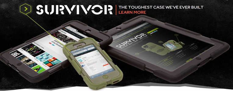 Griffin Survivor case offers all-weather protection