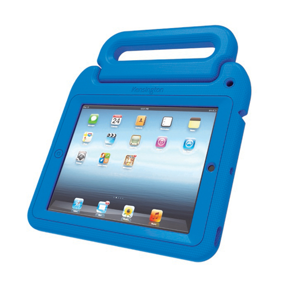 The SafeGrip Rugged Case & Stand - built for every child.