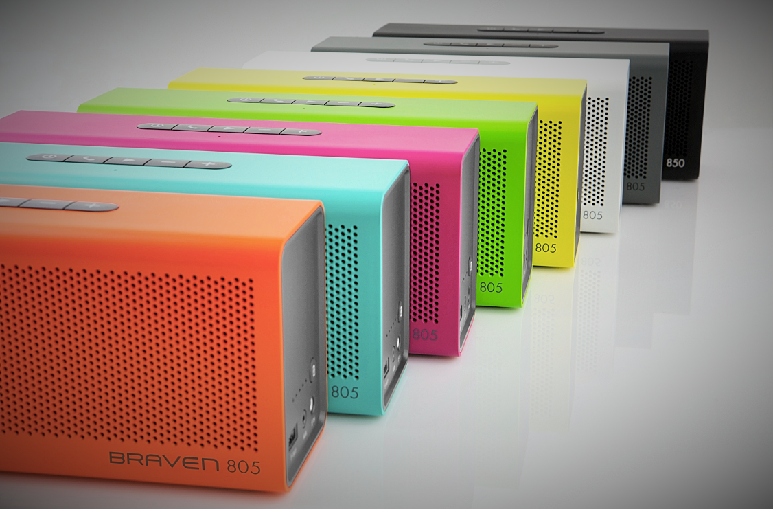 BRAVEN 805 Wireless Speaker - Treat Your Ears to Portable HD Sound