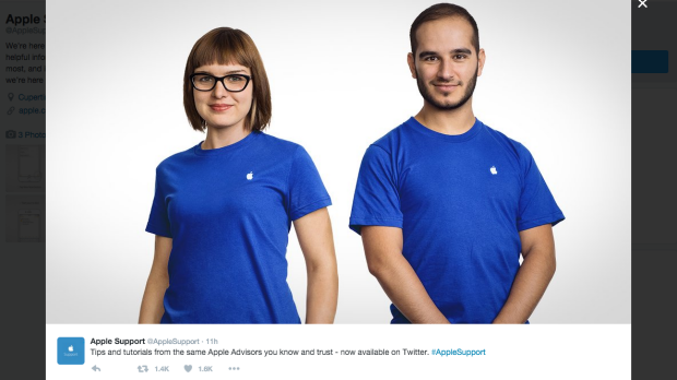 Apple Takes Their Genius Bar Online via Twitter @AppleSupport