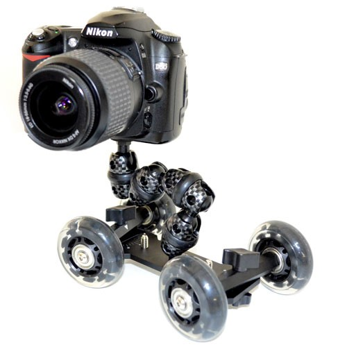An Amateur Cameraman's Dream – the iStabilizer Dolly.