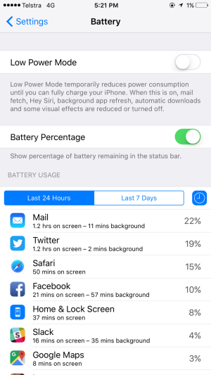Facebook App iPhone Battery-Drain-Strain
