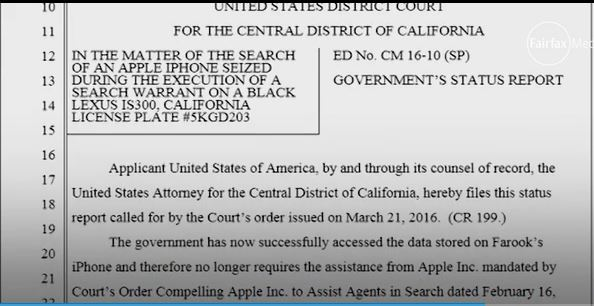FBI Cracks San Bernadino Shooter's iPhone, Drops Case Against Apple