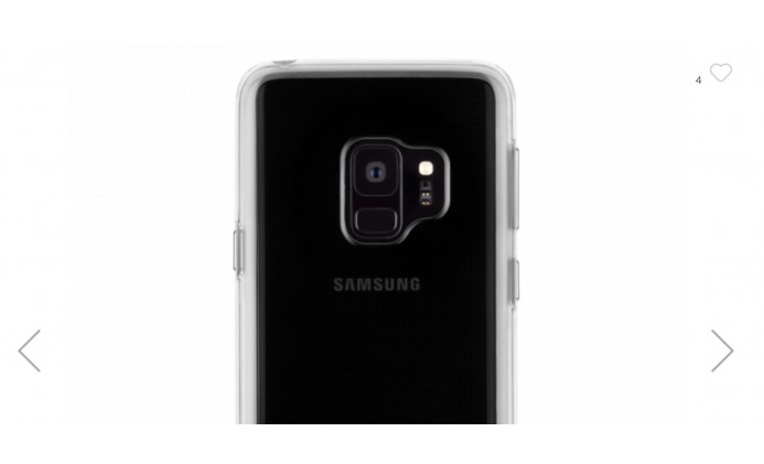Case Mate Naked Tough for Samsung S9, Barely There with Gloss That's Fingerprint-Free!