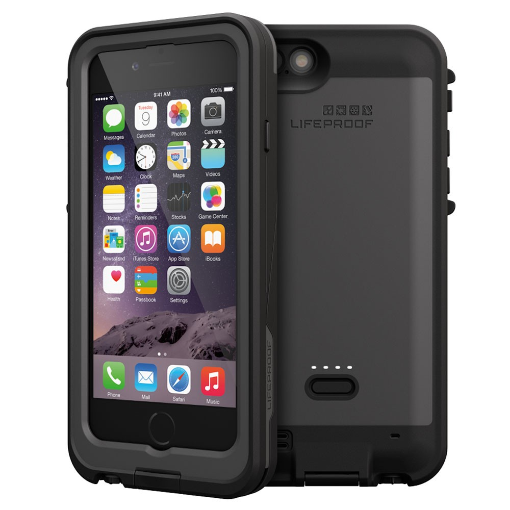 LifeProof FRE Power for iPhone 6 Case keeps your phone going for longer