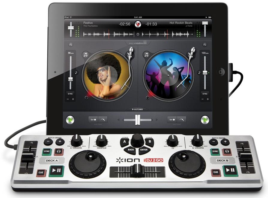 iON iDJ2GO – DJ for iPad  I'm Fat Boy Slim!! :D
