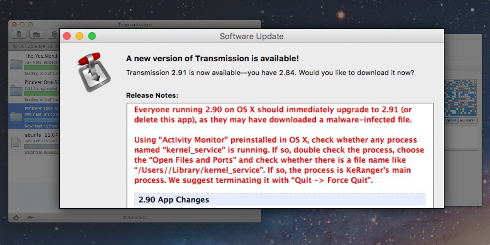 "First OS X Ransomware ""KeRanger"" Hits the Interwebs"