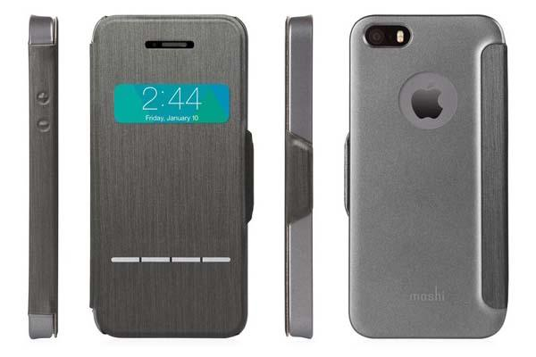 Check out the elegant Moshi SenseCover for iPhone 5/5s