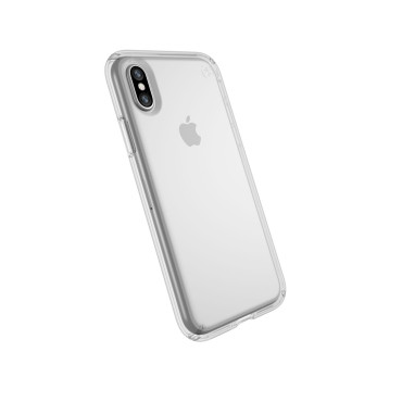 SPECK PRESIDIO CLEAR IPHONE X CASES Clear/Clear