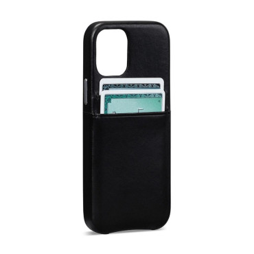 Sena Snap On Wallet Case for iPhone 12 Pro Max - Black