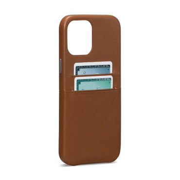 Sena Snap On Wallet Case for iPhone 12 Pro Max - Brown
