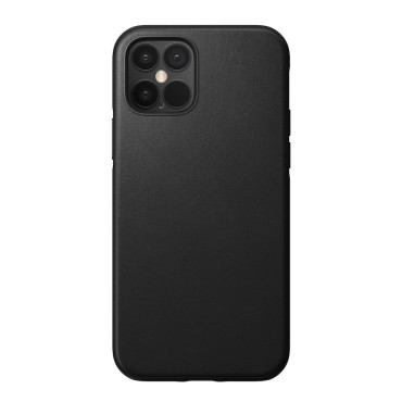 Nomad Leather Case - Rugged - iPhone 12 Pro Max - Black
