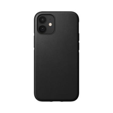 Nomad Leather Case - Rugged - iPhone 12 Mini - Black