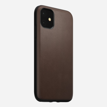 Nomad Rugged Case for iPhone 11 Pro - Rustic Brown