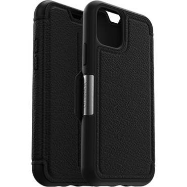 """Otterbox Strada Leather Folio Wallet Case For iPhone 11 Pro (5.8"""") - Shadow"""
