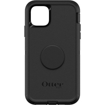 """Otterbox Otter + Pop Defender Screenless Case For iPhone 11 Pro Max (6.5"""") - Black"""