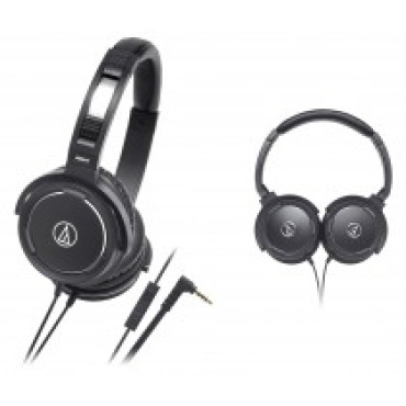 Audio Technica Solid Bass / microphone headphones WS55