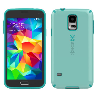 CandyShell Cases for Samsung Galaxy S5-Black/Aloe Green/Caribbean
