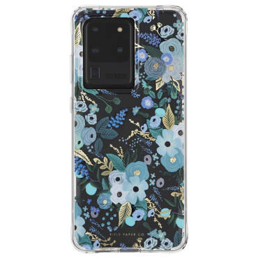 Case-Mate Rifle Paper Case suits Samsung Galaxy S20 Ultra (6.9) - Garden Party/Blue