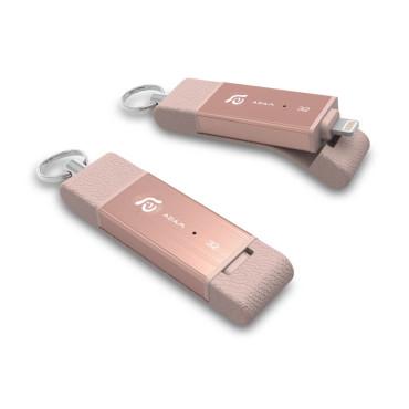 iKlips Duo 32GB Rose Gold