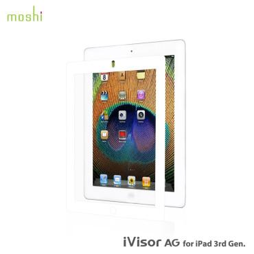Moshi iVisor AG Anti Glare Screen Protector  for iPad - White