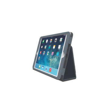 Comercio™ Soft Folio Case & Stand for iPad® Air - Slate Grey