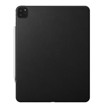 Nomad Rugged Case - iPad Pro 12.9 (4th Gen) - Leather - Black