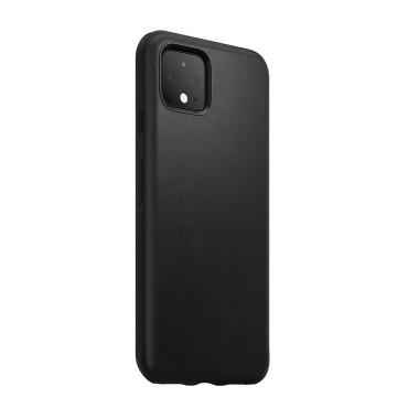 Leather Case - Rugged - Google Pixel 4 - Black