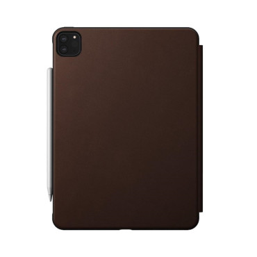 Nomad Rugged Folio - iPad Pro 11 (2nd Gen) - Leather - Brown