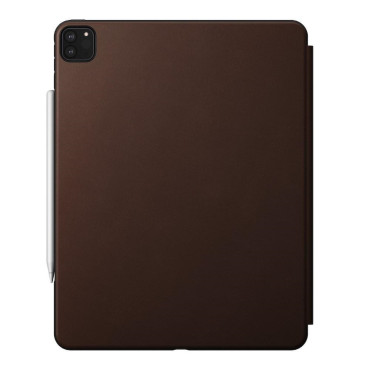 Nomad Rugged Folio - iPad Pro 12.9 (4th Gen) - Leather - Brown
